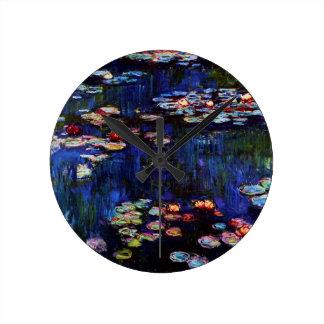 Horloge Ronde Monet-Eau-Lis de Claude
