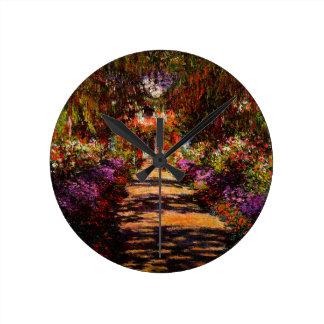 Horloge Ronde Monet-Voie de Claude dans le jardin de Monet chez