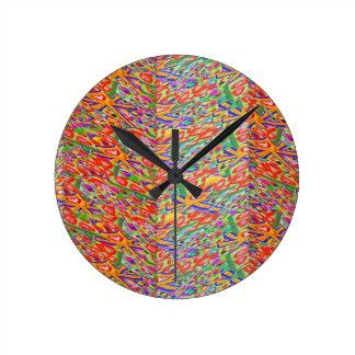 Horloge Ronde Morceau 55 Art101 principal décoratif