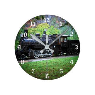 Horloge Ronde Moteur retiré de train