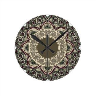 Horloge Ronde Motif décoratif