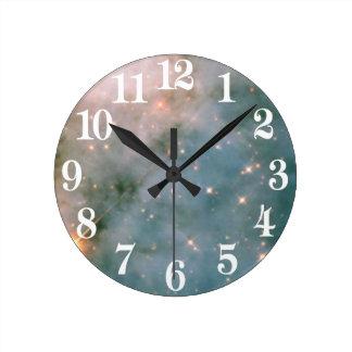 Horloge Ronde Nébuleuse lumineuse de Carina