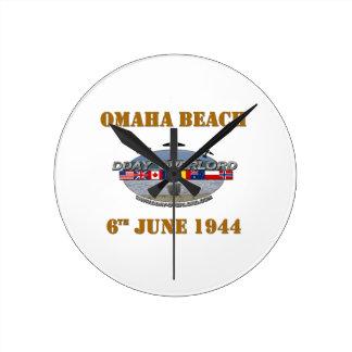 Horloge Ronde Omaha Beach 6th June 1944