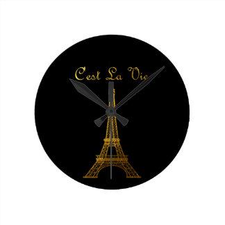 Horloge Ronde Paris : La La de C'est luttent