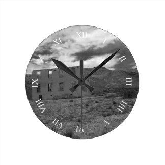 Horloge Ronde Photographie de construction abandonnée
