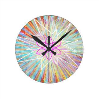 Horloge Ronde Puissance d'âme : Conception artistique à énergie