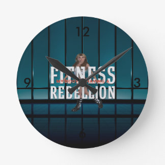 Horloge Ronde Rébellion SUPÉRIEURE de forme physique