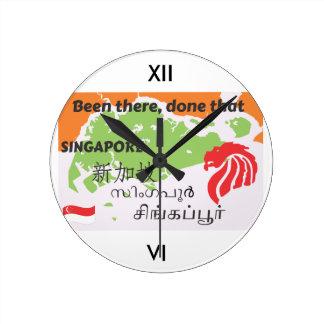 Horloge Ronde Singapour