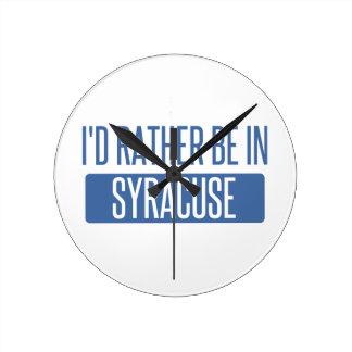 Horloge Ronde Syracuse