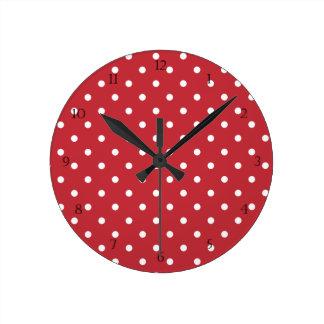 Horloge Ronde Tarte aux cerises