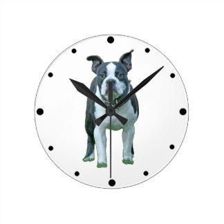 Horloge Ronde Terrier 1B de Boston