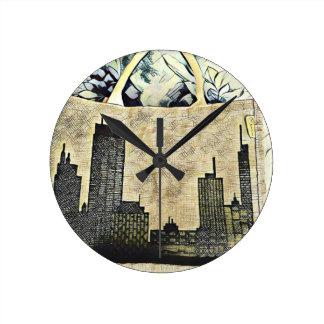 Horloge Ronde Transport de la ville