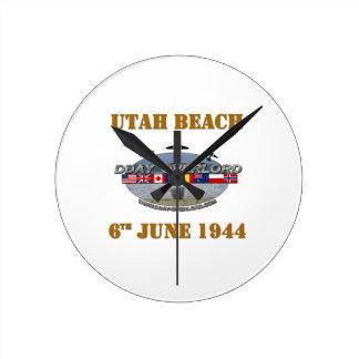 Horloge Ronde Utah Beach 6th June 1944