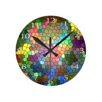 Horloge Ronde Verre souillé par Shirley Taylor