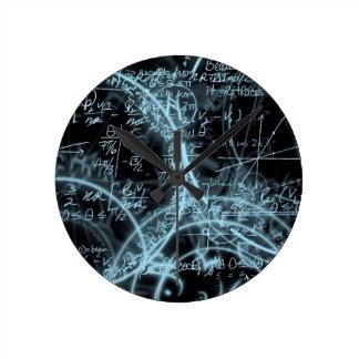horloge style mathématique