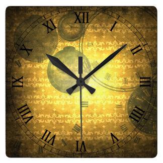 Horloge vintage d'impression de chiffres de SteamP