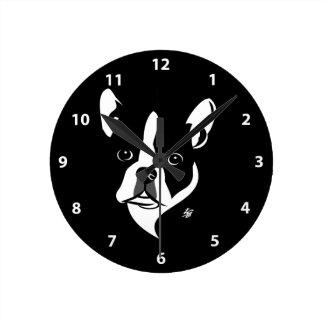 Horloges de Boston Terrier