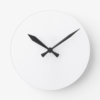 Horloges personnalisées rondes format medium