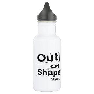 Hors de la bouteille d'eau de forme physique de