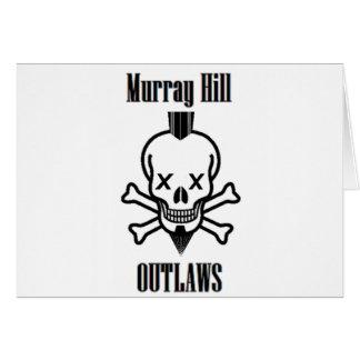 Hors-la-loi de Murray Hill Carte De Vœux