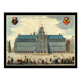 Hôtel de ville d'Anvers Carte Postale
