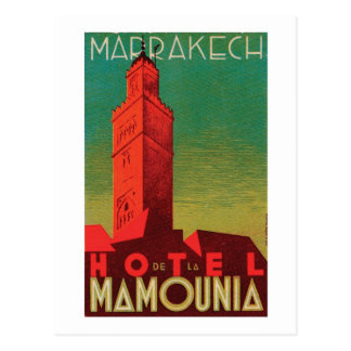 Hôtel Mamounia Marrakech Carte Postale