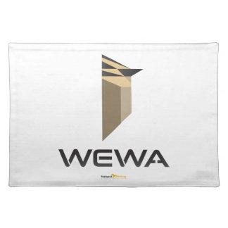 Hotspot de Koopwaar van Birding WEWA Placemat