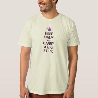 Houd de Kalme Grote T-shirt van de Stok