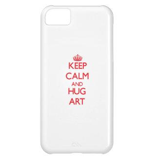 Houd het Kalme en Art van de OMHELZING iPhone 5C Hoesje
