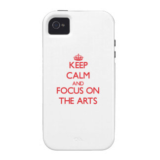 Houd kalm en concentreer me op de ARTS