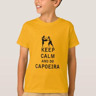 Houd Kalm en doe Capoeira T Shirt