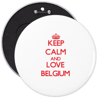 Houd Kalm en Liefde België Speldje