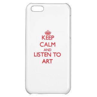 Houd Kalm en luister aan Art