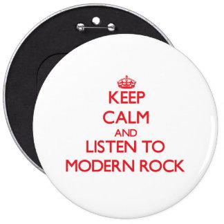 Houd kalm en luister aan MODERNE ROTS