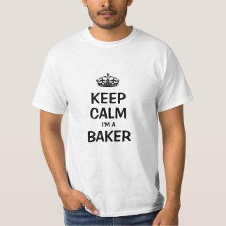 Houd kalm ik ben Baker T Shirt