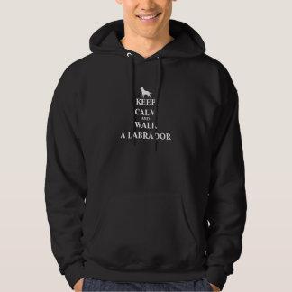 Houd Kalm & loop een de pret mannen sweatshirt van