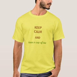 Houd Kalme Mannen T-shirt