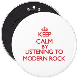 Houd rust door te luisteren aan MODERNE ROTS