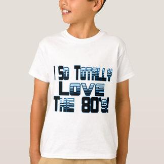 Houd van de jaren '80 t shirt