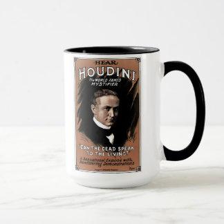 "Houdini - ""peuvent les morts parler"" la tasse de"