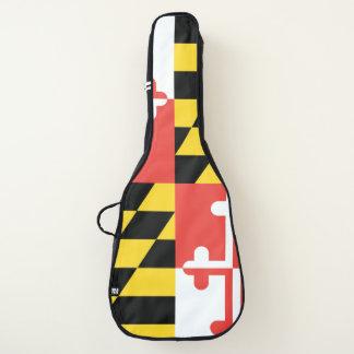 Housse De Guitare Caisse de guitare de drapeau du Maryland