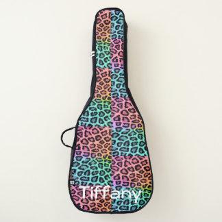 Housse De Guitare Caisse de guitare d'empreinte de léopard