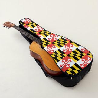 Housse De Guitare Caisse multiple de guitare de drapeau du Maryland
