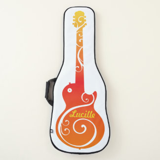 Housse De Guitare Conception de guitare électrique de couleurs de