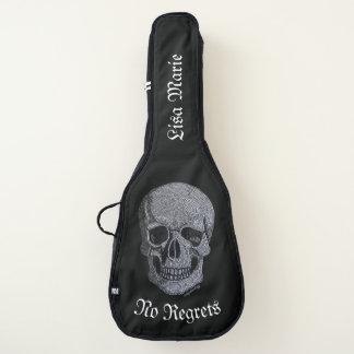Housse De Guitare Crâne de fausse pierre