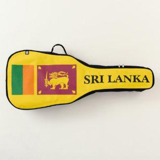Housse De Guitare Drapeau d'île du Sri Lanka