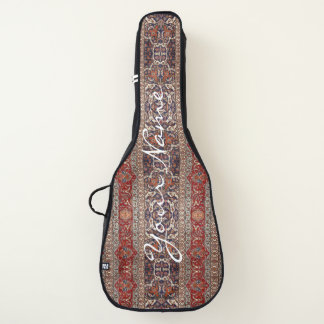 Housse De Guitare HAMbWG - caisses de guitare - bleu rouge persan de
