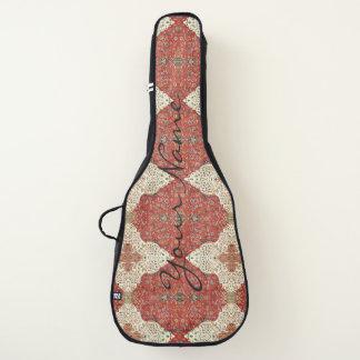 Housse De Guitare HAMbWG - caisses de guitare - crème rouge persane