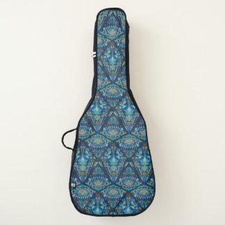 Housse De Guitare Motif floral géométrique de tradition de mode