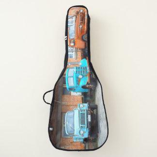 Housse De Guitare vieille école trois